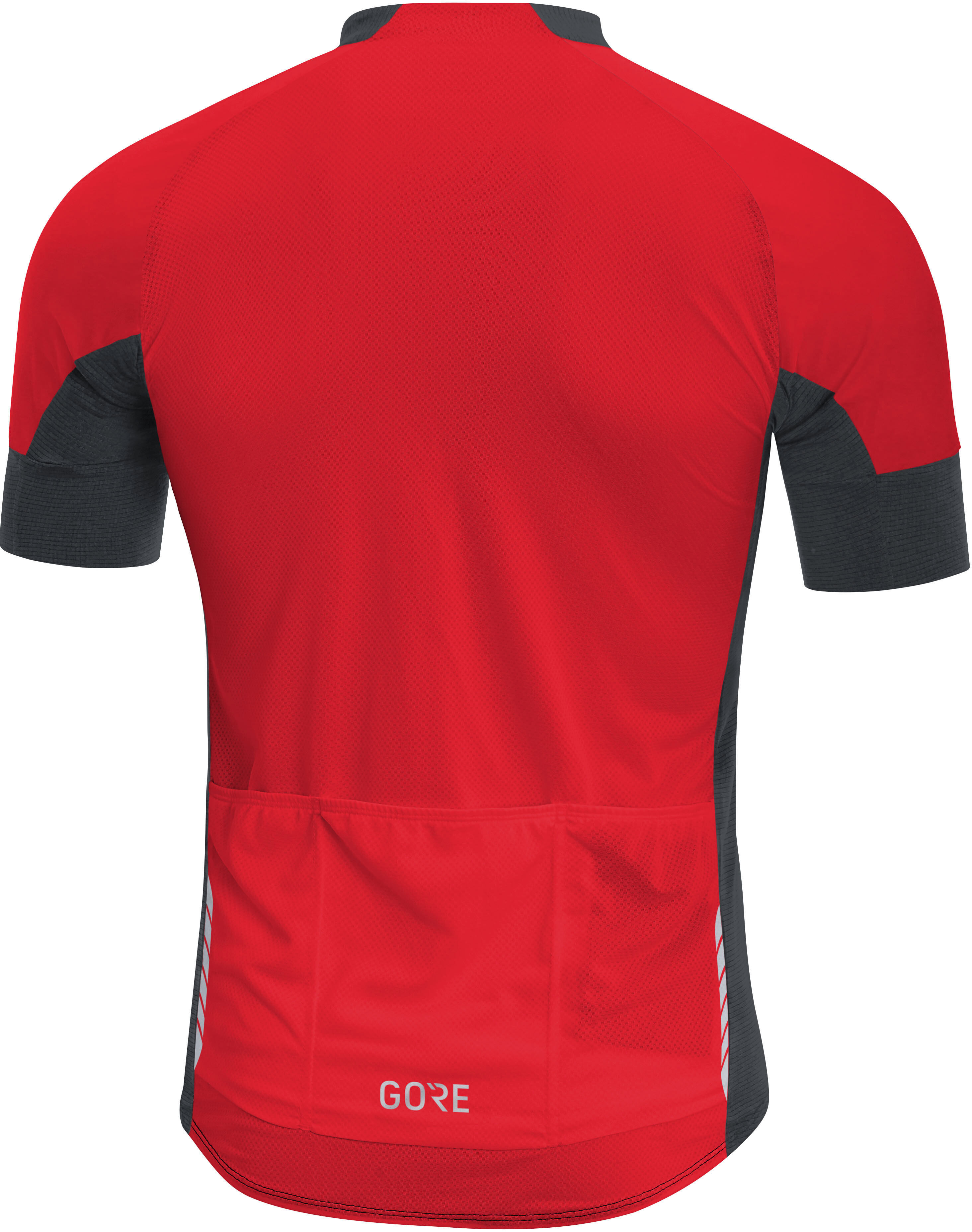 4f65a2362 GORE WEAR C7 CC Bike Jersey Shortsleeve Men red black at Bikester.co.uk